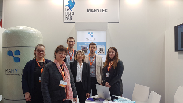 Hannover Messe 2018 - Stand MAHYTEC